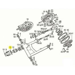 Collier Soufflet Cardan Moto Guzzi GU93305078 en vente
