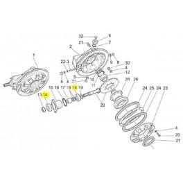 Roulement Couple Conique Moto Guzzi GU92249227 en vente