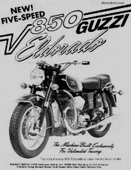 Vintage Italian Motorcycle Advertisements