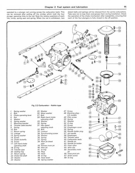 Instrukcja serwisowa Kawasaki Z 750 GT 750 GPZ 750