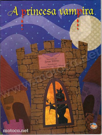 Capa Livro Princesa Vampira