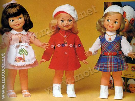 boneca Gui-gui anos 70