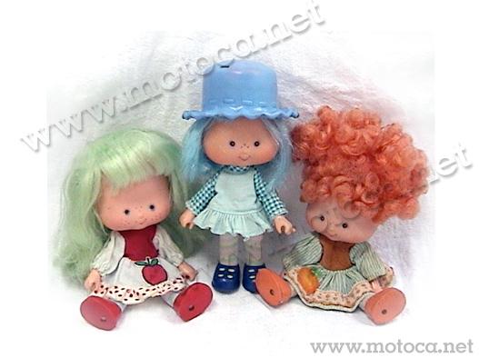 bonecas moranguinho