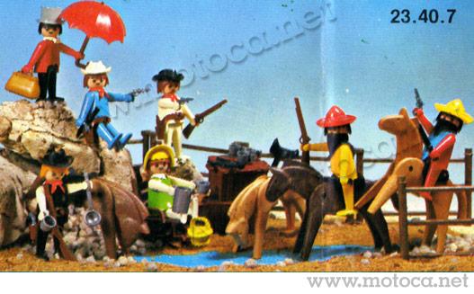 Playmobil Velho Oeste - Mexicanos