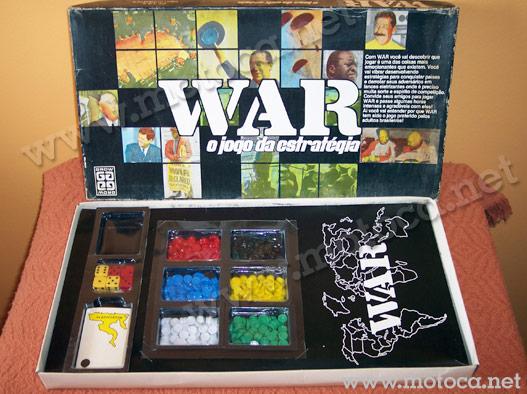 caixa jogo War