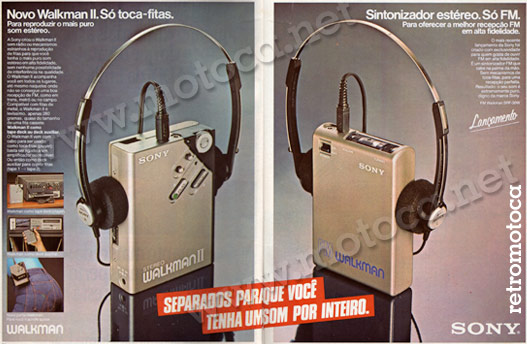 Walkman II Sony 82