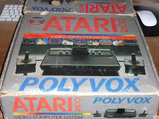 Caixa Atari 2600
