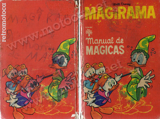 capa manual mágicas