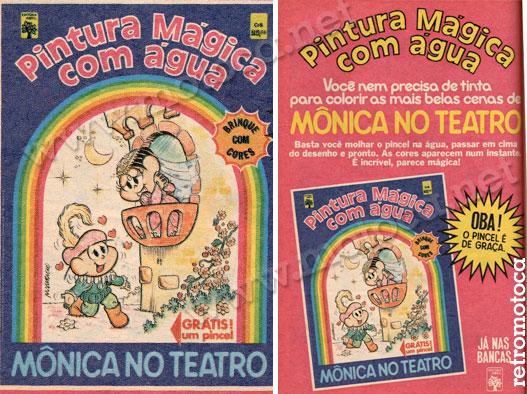 Revista pintura Mônica 1979