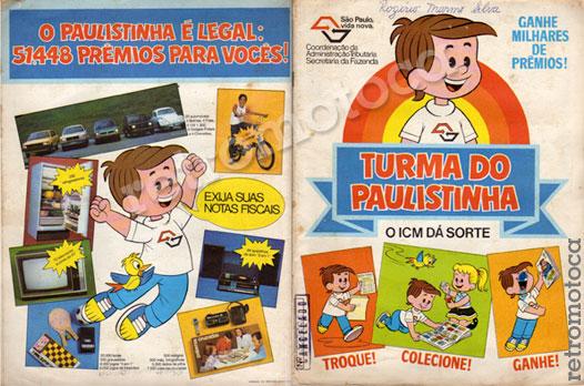 Álbum Turma do Paulistinha