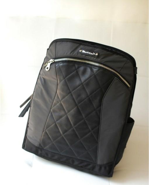 Lauren: Black backpack