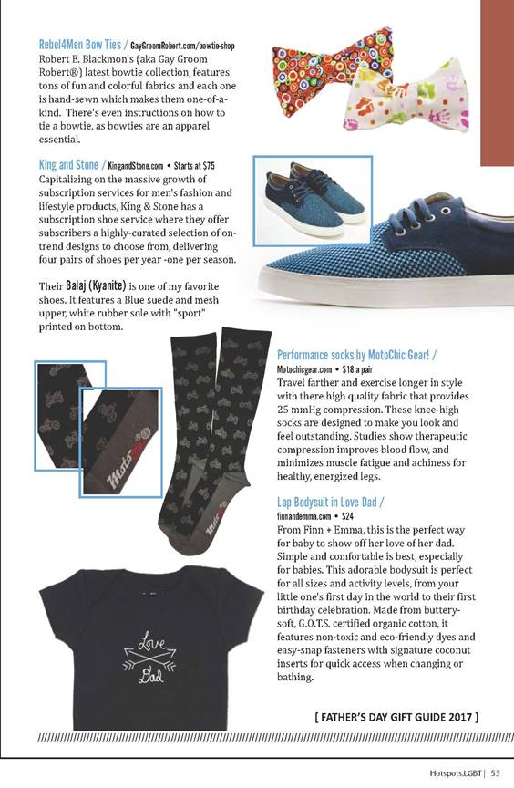 2017 Hotspots! LGBT - Fathers Day Gift Guide - MCG Socks