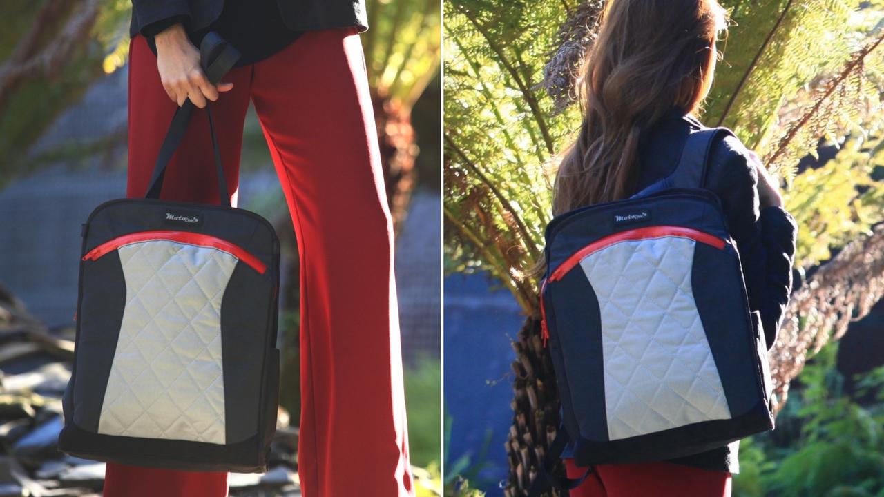 lauren sport convertible backpack tote bag weatherproof