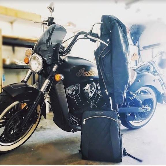 nova_vixen, Indian motorcycle and Lauren bag