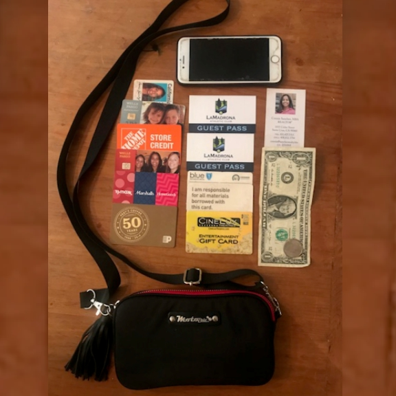 Connie - whats in her bag