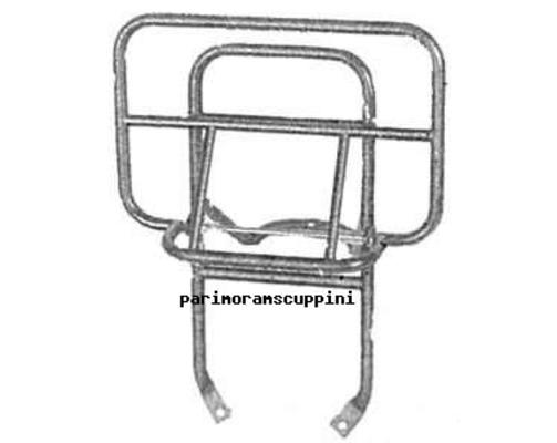 Portapacchi posteriore cromato Vespa PX 125 / 150 / 200