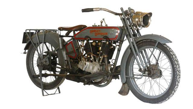 Harley Davidson JD F Modell 1916