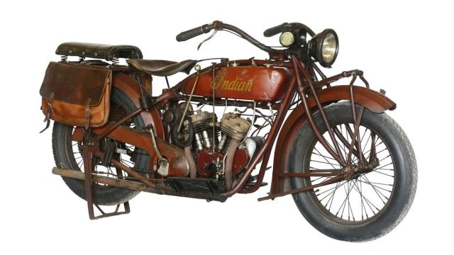 Indian Scout 600 solo 1926