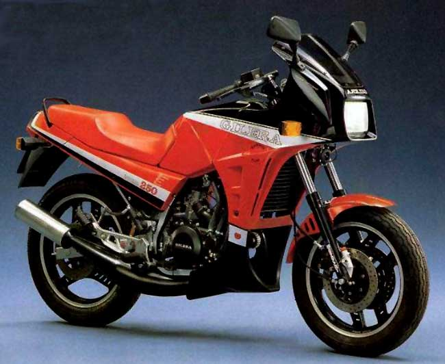 Gilera NGR 250 (reduced effect)