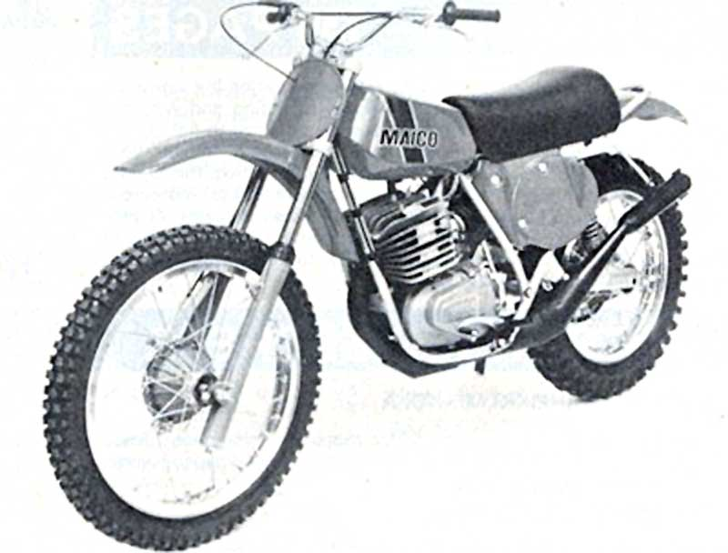 Maico GP 250 E (reduced effect)