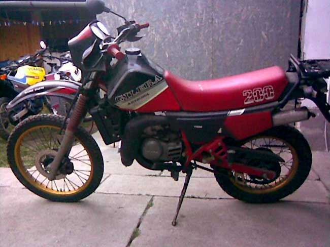 Gilera RX 200 Arizona