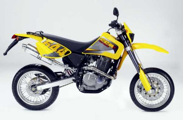CCM 644 DS Supermoto