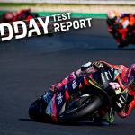 Giorno 2: Aleix Espargaro al top, il debutto dei rookie KTM