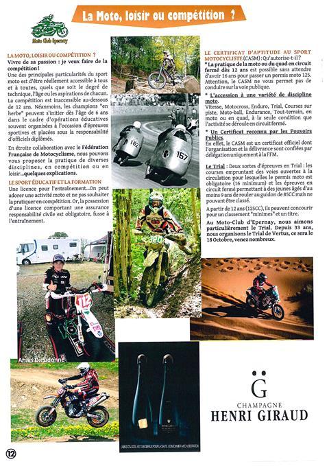 moto club d epernay