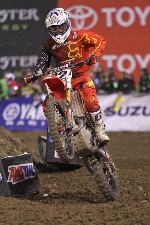 Tommy Hahn  - ( MXA.com Photo)