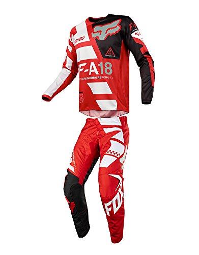 Fox Racing 180 Honda Men S Jersey Red White Atv Dirtbike Motocross Jerseys