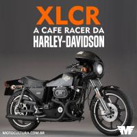 Harley-Davidson XLCR - A cafe racer de fábrica da Harley