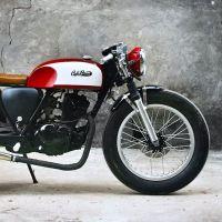 Suzuki Intruder 125 cafe racer - projetos para se inspirar