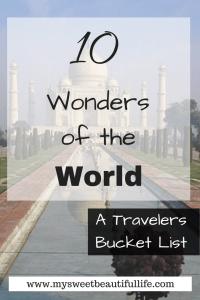 Wonders of the World #wondersoftheworld #travel #internationaltravel #explore #wonder #world