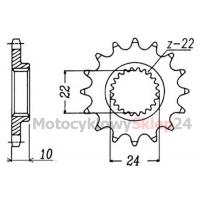 1. Zębatki motocyklowe przednie i tylne • Sklep Motocyklowy 24