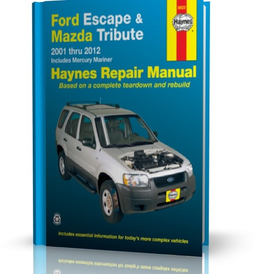 small resolution of ford escape mazda tribute mercury mariner 2001 2012 instrukcja napraw haynes