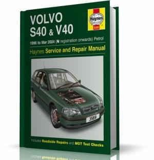 VOLVO S40  V40 (19962004)  instrukcja napraw Haynes