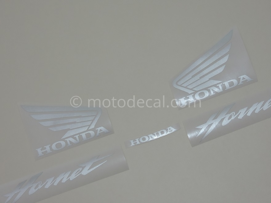 Honda CB 600F Hornet 2002-2004 Black DECAL KIT by