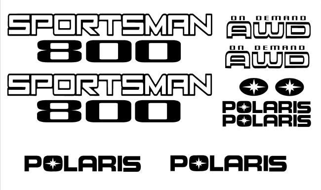 www.motodecals.com Sticker Kits Polaris atvs Stickers