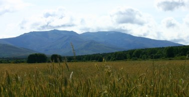 Fields and mountains around Tabuyo
