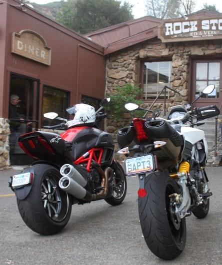 The 2 Italian machines hit the Rock Store