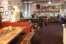 Roland's lavish and creative office