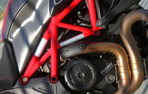 Ducati time! this time on the Diavel..