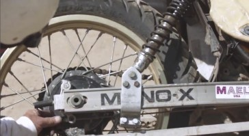 The mono shock is now a twin shock....