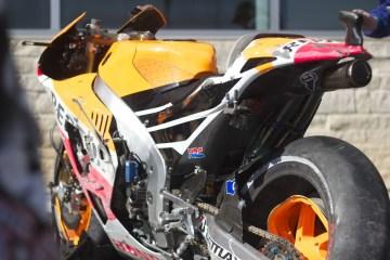 Marquez crashed hard in qualifying