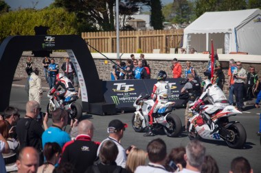 Electric bike race start