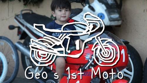 Geo's 1st Moto