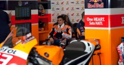 Marc in the pits