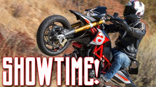 Showtime! / Aprilia Dorsoduro 900 / MotoGeo Adventures