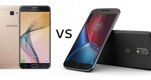 Samsung Galaxy J7 Prime vs Moto G4 Plus