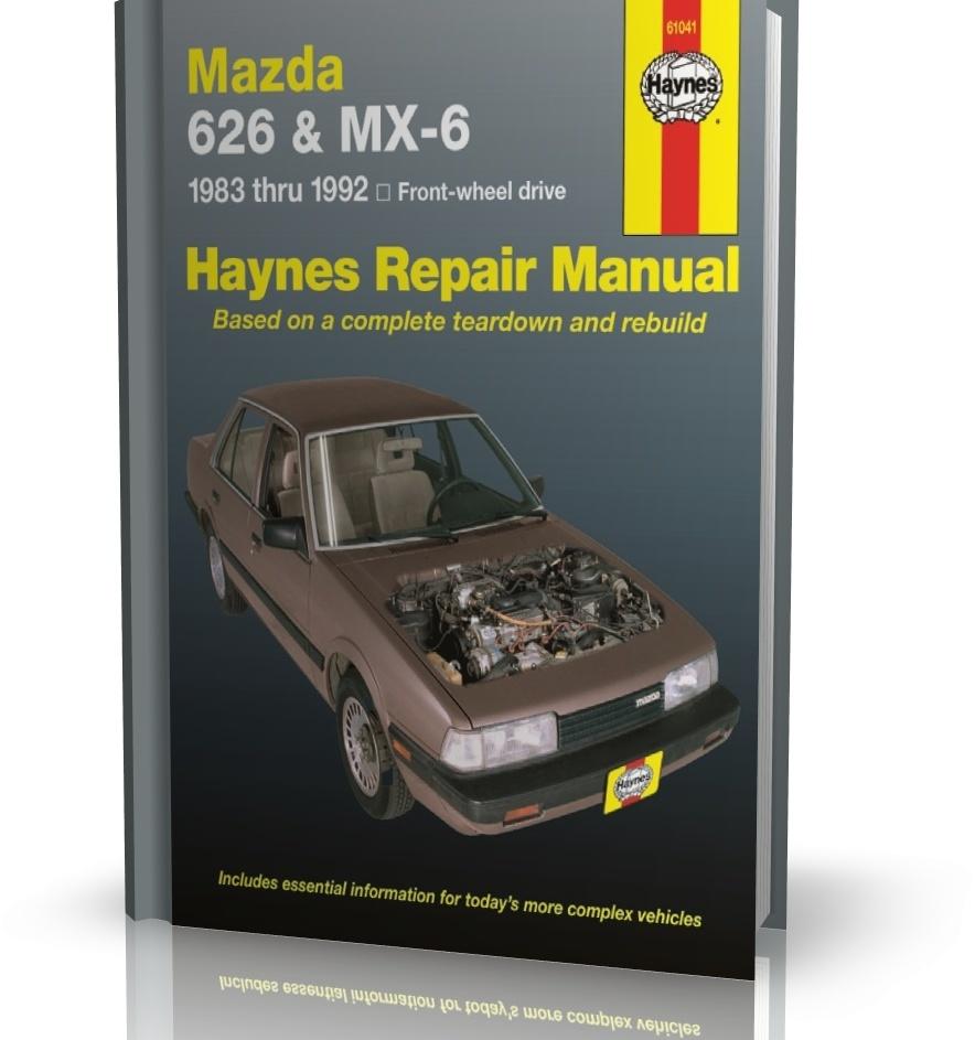 hight resolution of service manual repair manual 1994 mazda mx 6 wheel drive